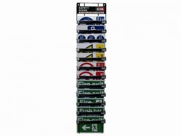 Signs Display - 60 Signs (12 Tier Stand)